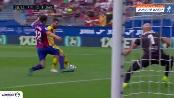 خلاصه بازی ایبار 0-3 بارسلونا رقابت های لالیگا 2019/2020