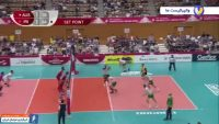 خلاصه بازی والیبال ایران 3-1 استرالیا جام جهانی 2019 ژاپن