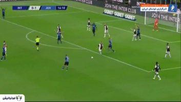 اینتر ؛ خلاصه بازی اینترمیلان 1-2 یوونتوس سری آ ایتالیا 2019/2020
