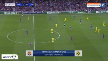 بارسلونا ؛ خلاصه بازی بارسلونا 3-1 دورتموند لیگ قهرمانان اروپا 2019/2020