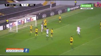 خلاصه بازی ویتوریا گیمارش 1-1 آرسنال لیگ اروپا 2019/2020