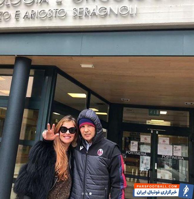 آریانا، همسر سینیشا میهایلوویچ امروز با انتشار این اخبار و تصاویر در صفحه رسمی خود نوشت: امید و زیبایی وجود ندارد. حالا ما دوباره در خانه هستیم.