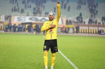 محمد محبی روز گذشته و در بازی حساس مرحله یک هشتم نهایی جام حذفی فوتبال ایران برابر پیکان در همان دقیقه 13 بازی سپاهان را پیش انداخت.