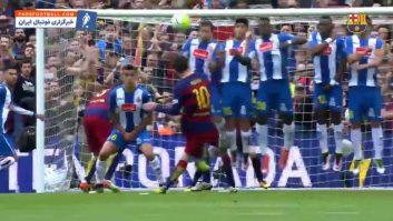 برترین گل های لیونل مسی از ضربات ایستگاهی در تیم بارسلونا