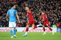 خلاصه بازی لیورپول 1-1 ناپولی لیگ قهرمانان اروپا 2019/2020