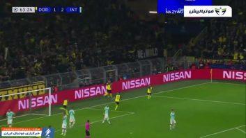 خلاصه بازی دورتموند 3-2 اینترمیلان لیگ قهرمانان اروپا 2019/2020