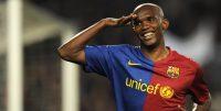برترین گل های ساموئل اتوئو در رقابت های لالیگا برای بارسلونا