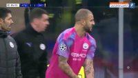 واکر ؛ عملکرد کایل واکر درون دروازه منچسترسیتی برابر آتالانتا در لیگ قهرمانان