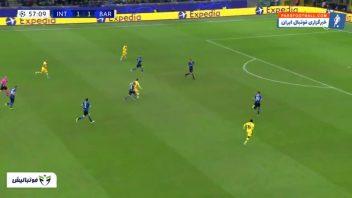 خلاصه بازی اینترمیلان 1-2 بارسلونا لیگ قهرمانان اروپا 2019/2020