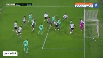 رئال ؛ خلاصه بازی والنسیا 1-1 رئال مادرید لالیگا اسپانیا 2019/2020