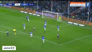یوونتوس ؛ خلاصه بازی سمپدوریا 1-2 یوونتوس سری آ ایتالیا 2019/2020