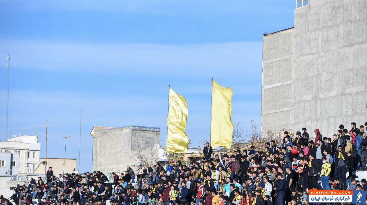 نود ؛ تصویری از نود ارومیه صدرنشین با اقتدار دسته اول