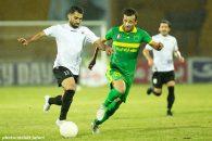 مصطفی احمدی تیم شاهین در دقیقه 55 جای خود را به ابوذر صفر زاده داد اما مصطفی احمدی صنعت نفت، 90دقیقه برای تیمش بازی کرد.