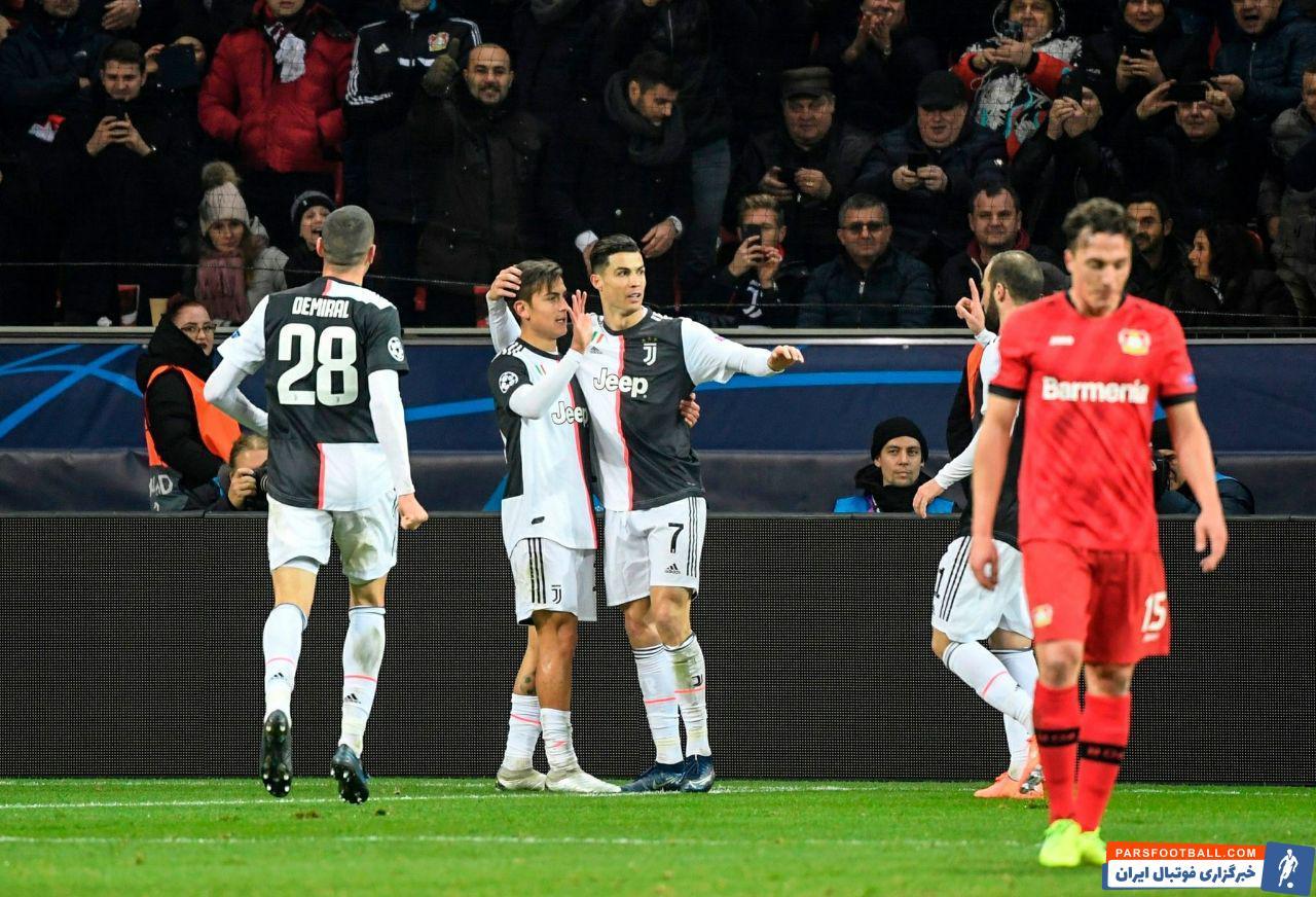 رونالدو ؛ گلزنی رونالدو به بایرلورکوزن در رقابت های لیگ قهرمانان اروپا