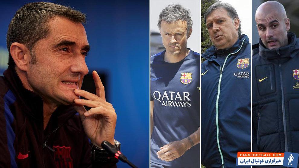 بارسلونا با هدایت ارنستو والورده به تدریج در حال از دست دادن فلسفه فوتبالی خود(تملک بر توپ و میدان) است.