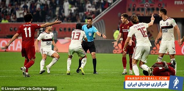 لیورپول ؛ پنالتی که که با VAR از لیورپول گرفته شد ؛ خبرگزاری پارس فوتبال