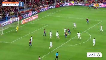 برترین گل های لیونل مسی در ورزشگاه نیوکمپ به رئال مادرید