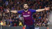 سوارز ؛ 14 گل و پاس گل لوییز سوارز برای بارسلونا در فصل 2019/2020