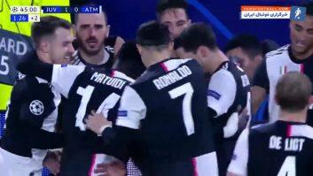 یوونتوس ؛ برترین گل های باشگاه یوونتوس در ماه نوامبر سال 2019