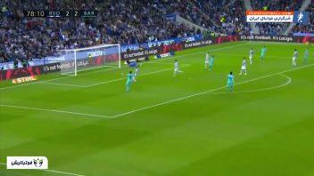 خلاصه بازی رئال سوسیه داد 2-2 بارسلونا لالیگا اسپانیا 2019/2020