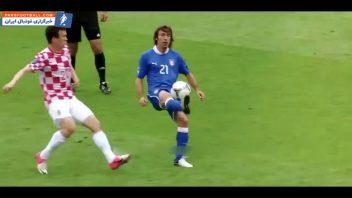 فوتبال ؛ کنترل توپ های دیدنی در مسابقات فوتبال جهان