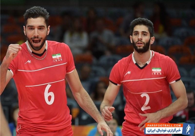 والیبال ؛ حضور سید محمد موسوی و میلاد عبادیپور در اردوی تیم ملی وایلبال از 5 دی
