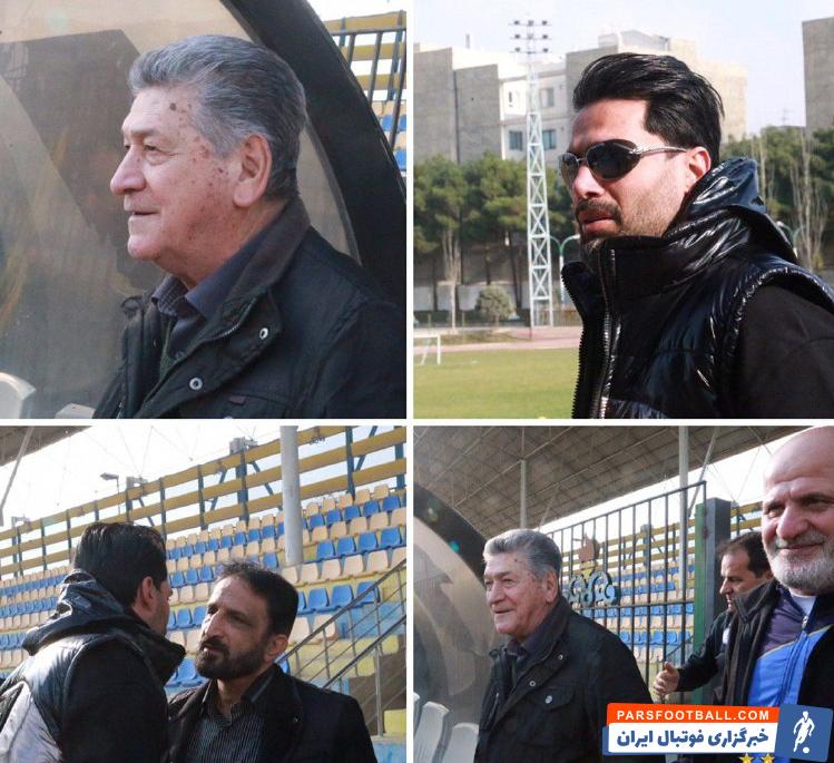 اکبر کارگرجم، محمد نوری و امیرحسین صادقی سه پیشکسوت استقلال با حضور در محل تمرین آبیپوشان به بازیکنان روحیه دادند و برای آنها آرزوی موفقیت کردند.