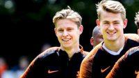 دی یونگ : دی لیخت می تواند در آینده نزدیک به بارسلونا بیاید