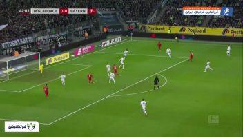 خلاصه بازی مونشن گلادباخ 2 -1 بایرن مونیخ بوندس لیگا آلمان 2019/2020