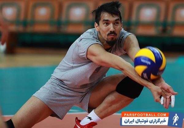 قائمی ؛ حضور فرهاد قائمی مصدوم در اردوی تیم ملی والیبال
