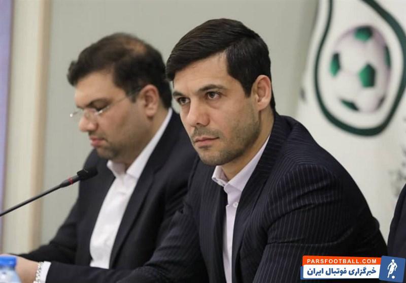 ابراهیم شکوری فدراسیون فوتبال