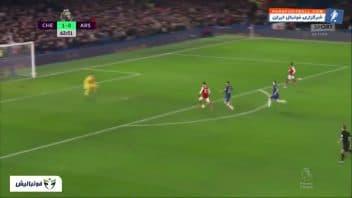 خلاصه بازی چلسی 2-2 آرسنال لیگ برتر انگلیس 2019/2020