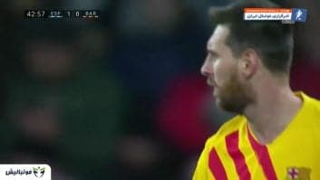 خلاصه بازی اسپانیول 2-2 بارسلونا لالیگا اسپانیا 2019/2020