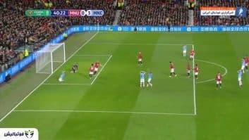 خلاصه بازی منچستریونایتد 1-3 منچسترسیتی لیگ برتر انگلیس