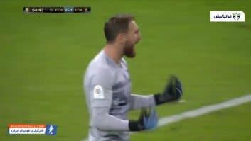 خلاصه بازی بارسلونا 2-3 اتلتیکومادرید سوپرجام اسپانیا