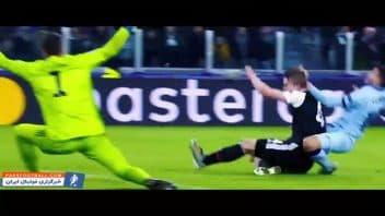 فوتبال ؛ تکل ها و دفاع های جانانه از ستاره های مطرح فوتبال جهان 2019/2020