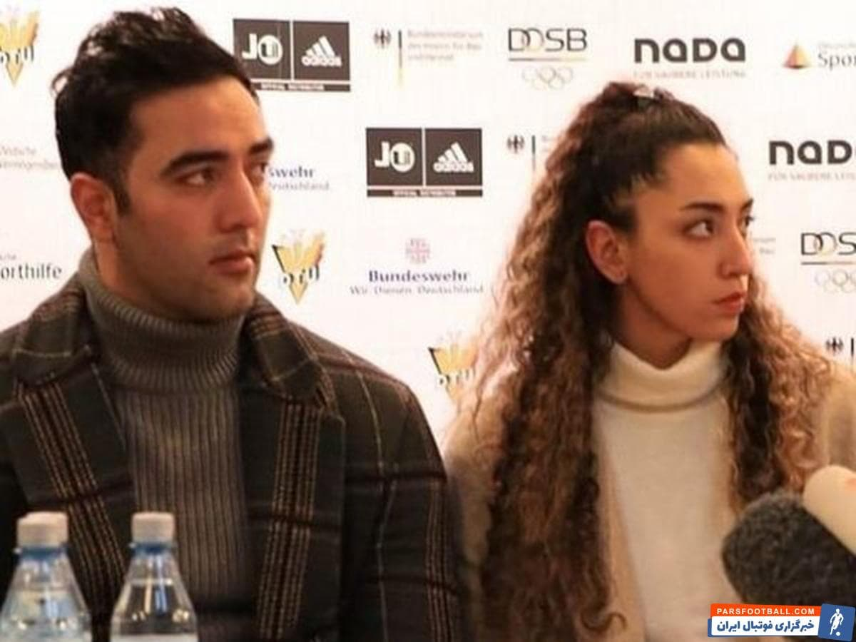 علیزاده ؛ توهین زشت حامد معدنچی به کیمیا علیزاده در کنفرانس مطبوعاتی