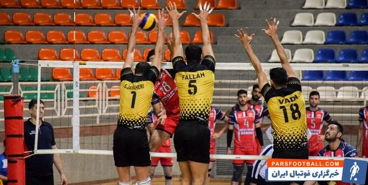والیبال ؛ پیروزی شهرداری ارومیه برابر سپاهان در لیگ برتر والیبال