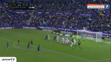 خلاصه بازی وایادولید 0-1 رئال مادرید لالیگا اسپانیا 2019/2020