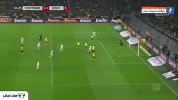 دورتموند ؛ خلاصه بازی دورتموند 5-1 کلت رقابت های بوندس لیگا 2019/2020