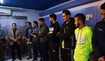 فرهاد مجیدی که برای دومین بار هدایت آبیپوشان را برعهده گرفته است با حضور سرپرست باشگاه و برخی اعضای هیات مدیره و پیشکسوتان استقلال به بازیکنان معرفی شد.