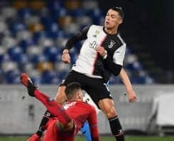 یوونتوس ؛ خلاصه بازی ناپولی 2-1 یوونتوس سری آ ایتالیا 2019/2020