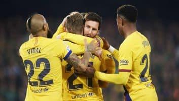 بارسلونا ؛ خلاصه بازی رئال بتیس 2-3 بارسلونا لالیگا اسپانیا 2019/2020