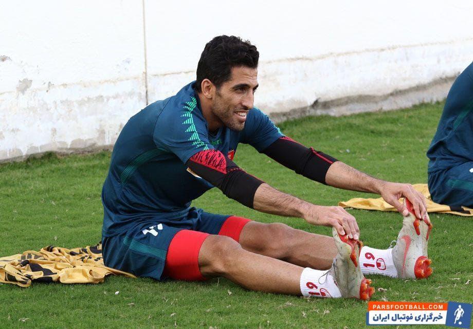 وحید امیری در بازی قبلی تیم پرسپولیس نزدیک به علی علیپور بازی میکرد و باید دید برای دیدار با الدحیل تصمیم گل محمدی چه خواهد بود.