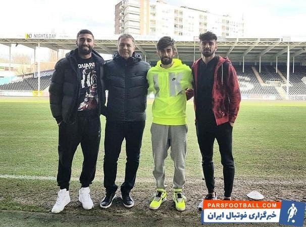 دراگان اسکوچیچ در ادامه سفرهای خود به کشورهای مختلف، با سه بازیکن ایرانی شالروآ هم ملاقات کرد.