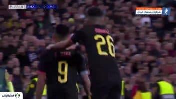 رئال مادرید ؛ خلاصه بازی رئال مادرید 2-1 منچسترسیتی لیگ قهرمانان اروپا