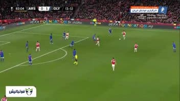 آرسنال ؛ خلاصه بازی آرسنال 1-2 المپیاکوس لیگ اروپا 2019/2020