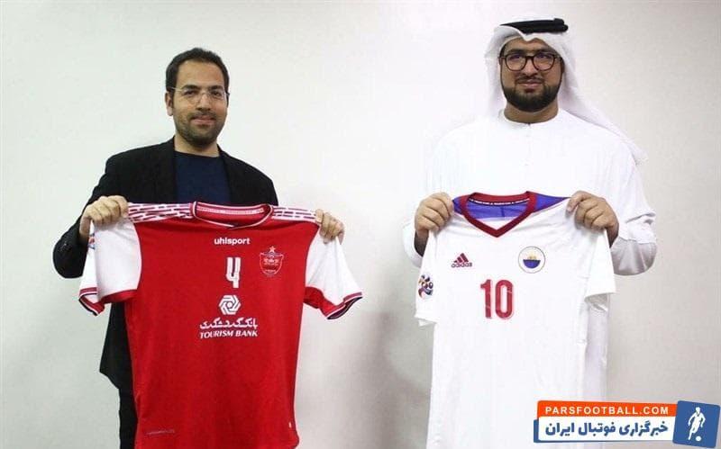 جلسه هماهنگی دیدار تیمهای فوتبال پرسپولیس ایران و الشارجه امارات برگزار شد که در این نشست، از پیراهن دو تیم در این مسابقه رونمایی شد.