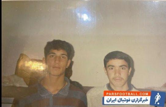 جواد نکونام  سرمربی کنونی فولادخوزستان و فرهاد حمیداوی مالک شهرخودرو ۲۸ سال پیش در فصل ۷۱-۱۳۷۰ در تیم نوجوانان تهران همبازی بودند.