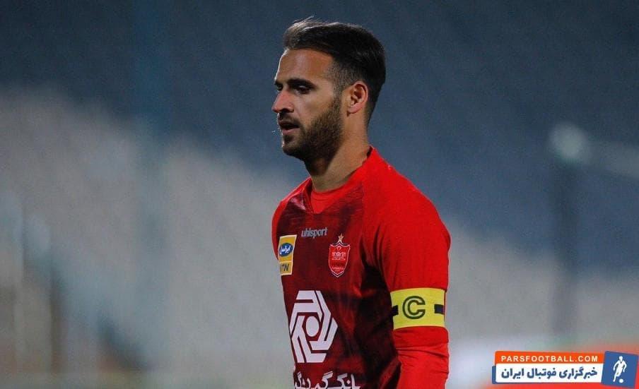 نوراللهی ؛ حضور احمد نوراللهی در تمام بازی های باشگاه پرسپولیس